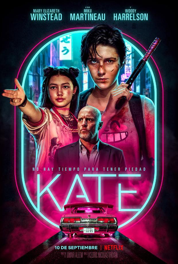 """Poster """"Kate"""". (Foto: Netflix)"""