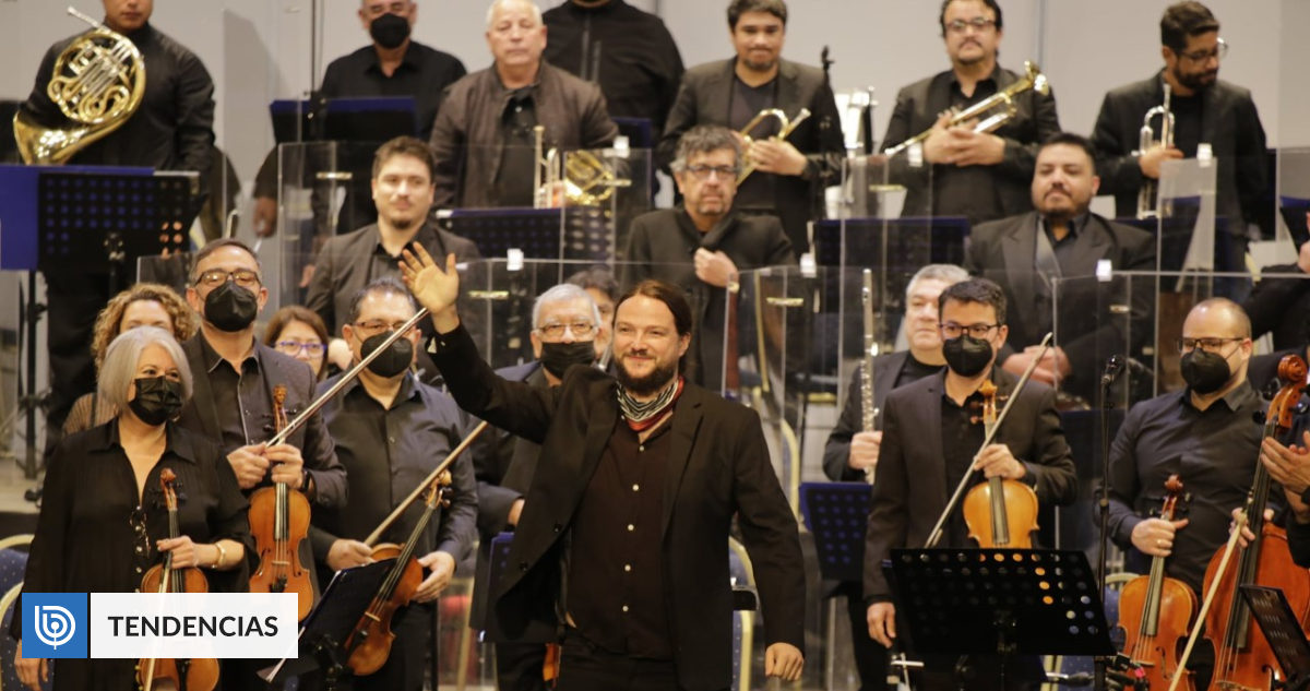 Nano Stern and Sinfónica de Antofagasta revived Chilean classics in concert: you can watch it online