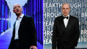 They report that Jeff Bezos and Yuri Milner join forces to finance a 'startup' that will seek to reverse aging and achieve eternal life