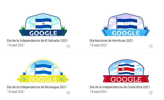 1631725297 532 Guatemalas Independence Day the Doodle with which Google commemorates the