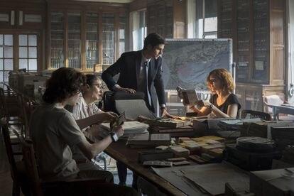 Álvaro Mel and Ana Polvorosa are the stars of 'La Fortuna', a co-production between AMC and Movistar +.