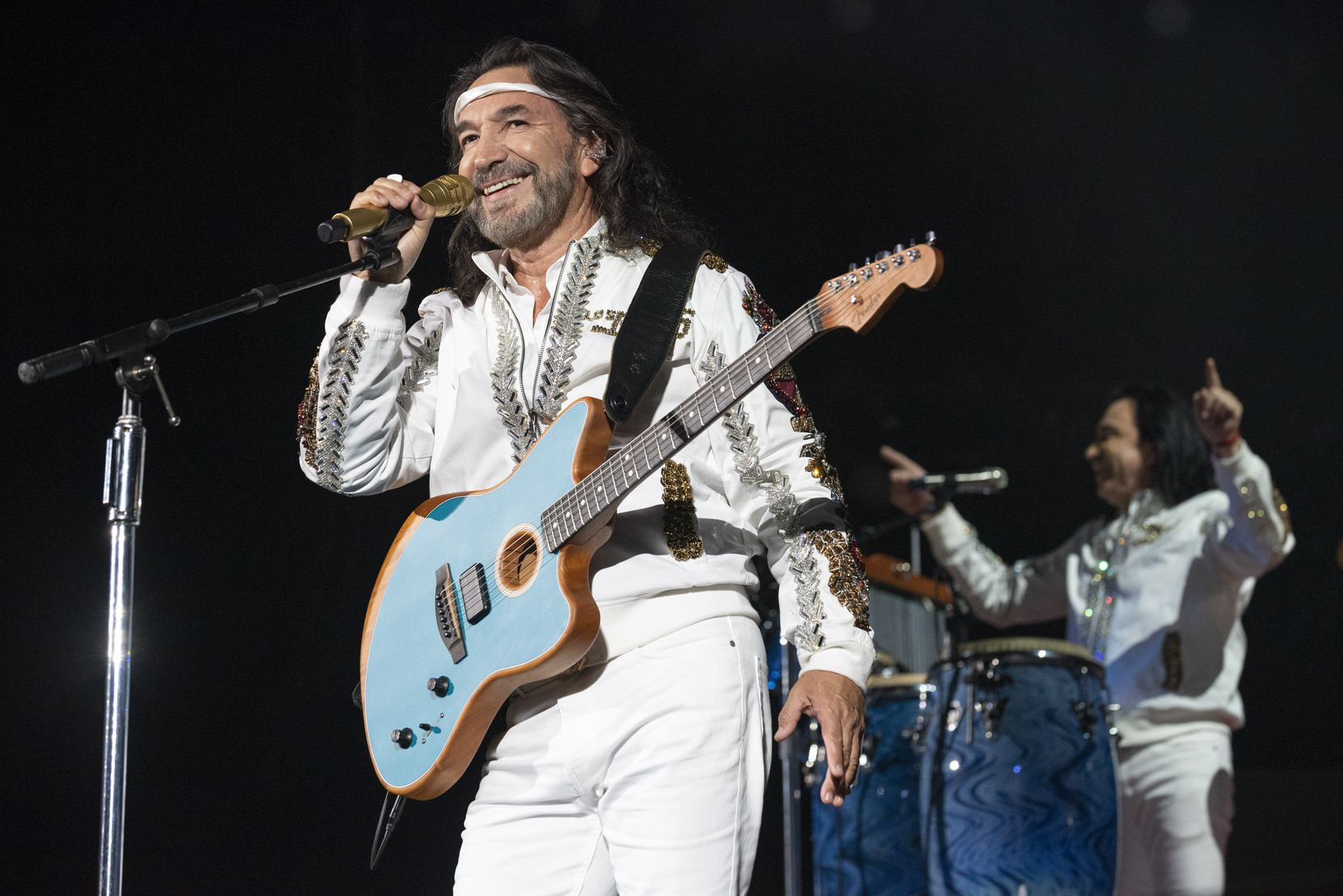 The legendary Mexican group Los Bukis performed in concert at the AT&T Stadium in Arlington on Wednesday, September 15, 2021.
