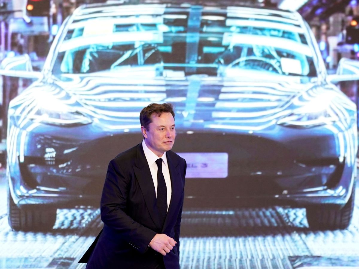 Photo: Tesla wants to remove the wiper blades. (Reuters)