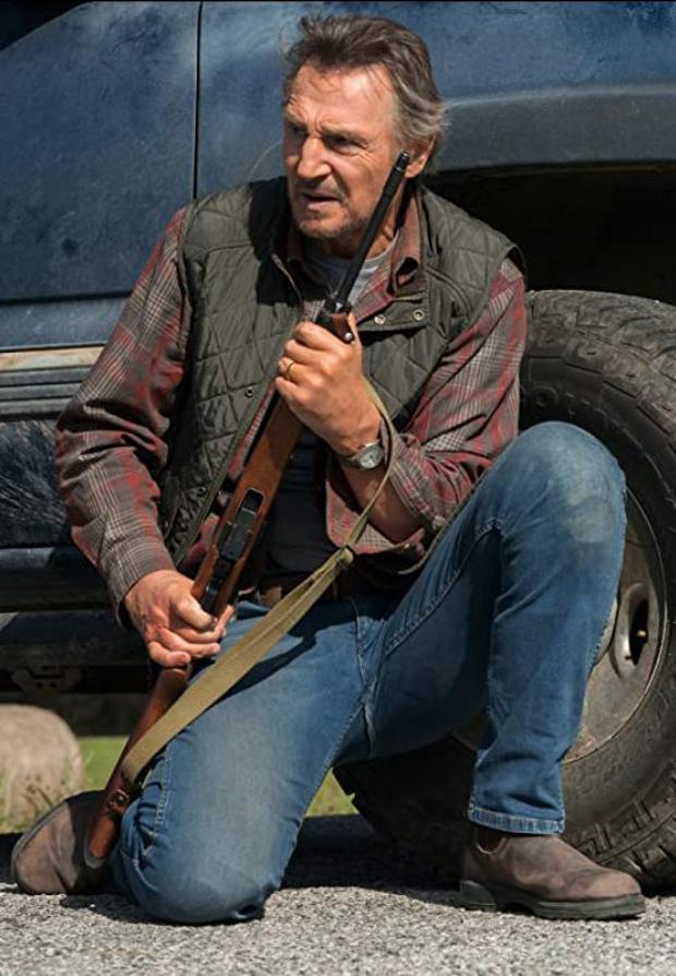 "Liam Neeson en ""The protector"". (Photo: Broadcast)"