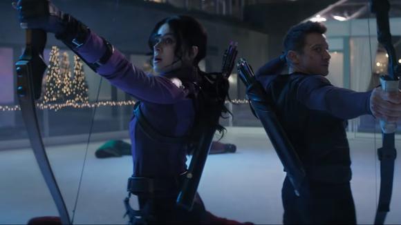 "Skip Intro: trailer for ""Hawkeye"". (Source: Marvel)"