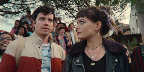 Otis and Maeve in Sex Education Season 3