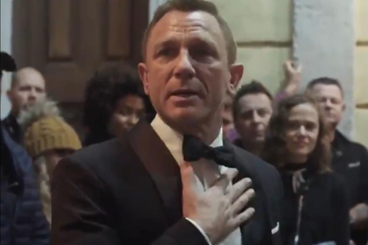 Daniel Craig, broken when saying goodbye to James Bond