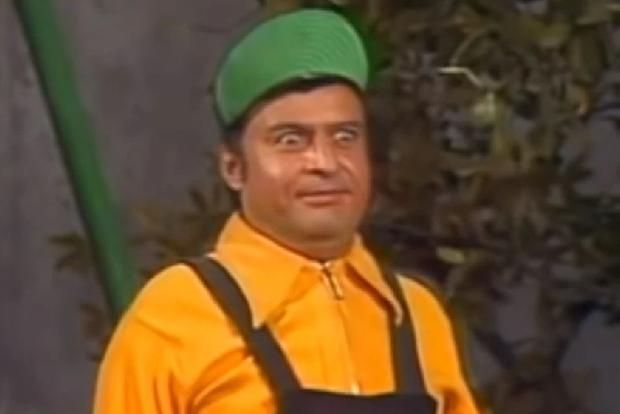 The role of Godínez was played by Horacio Gómez Bolaños, Chespirito's brother (Photo: Televisa)