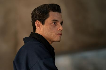 Rami Malek made up with the skin of Lyutsifer Safin in 'No Time to Die', the new James Bond movie