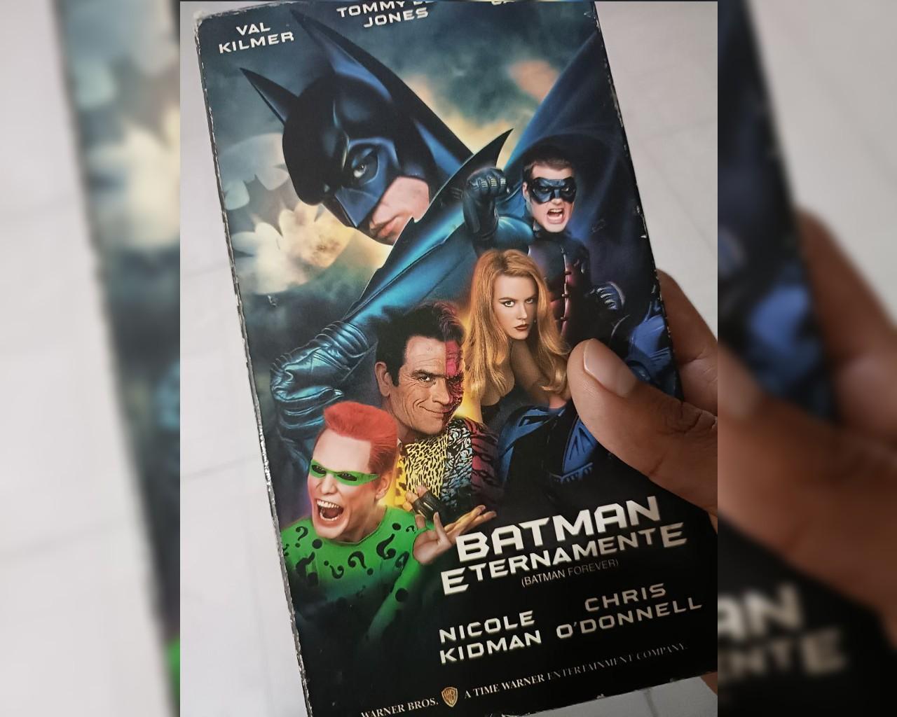 batman forever vhs batman day