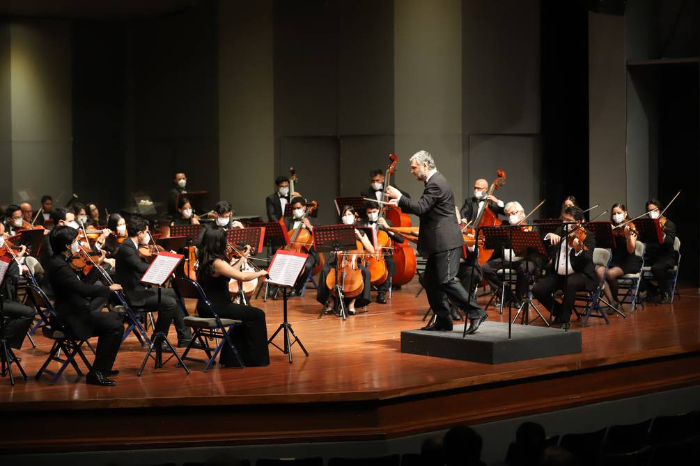 Teatro Centro de Arte celebrated the 100 years of life of EL UNIVERSO with a symphonic concert | Music | Entertainment