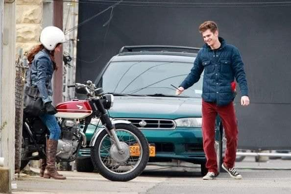 Unseen images of Mary Jane in Amazing Spider-Man revealed