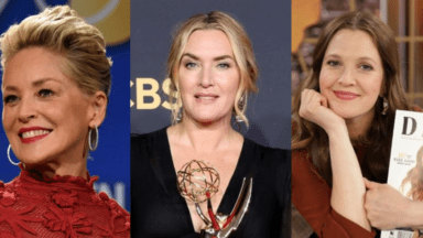 Kate Winslet and other celebrities who have stopped being afraid of him over the years