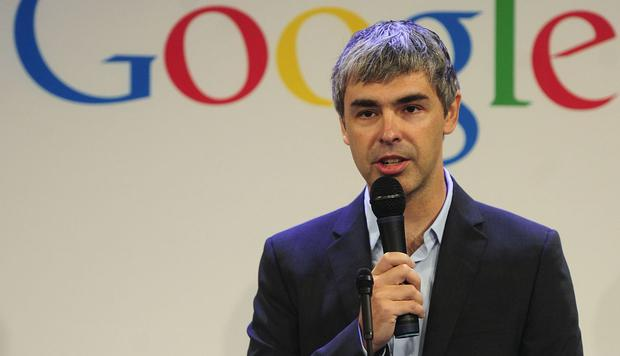 Larry Page (Photo: AFP)