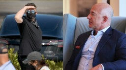 """""""I'll send him a silver medal"""": Elon Musk becomes the richest man in the world and makes fun of Jeff Bezos"""