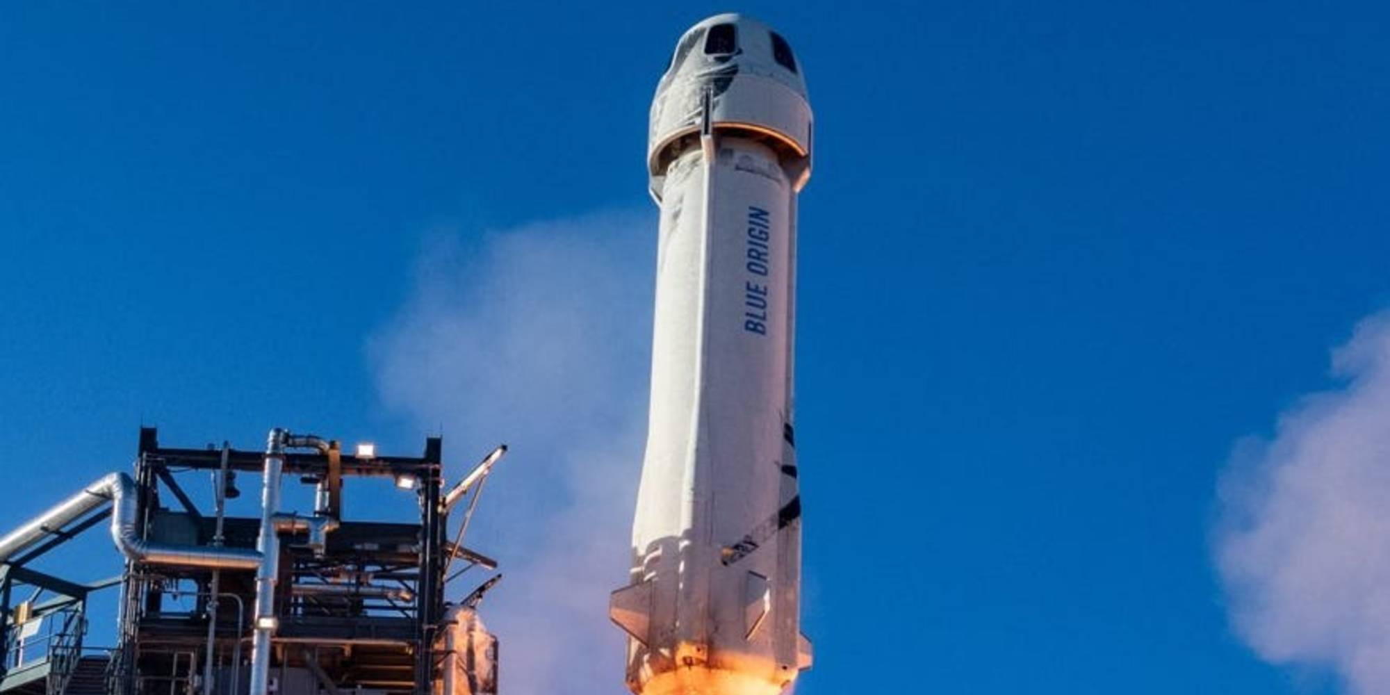 A replica of the rocket that sent Jeff Bezos into space is on pre-sale