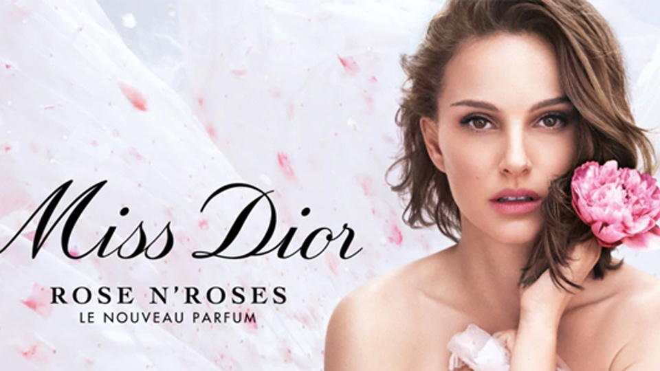 Ad Miss Dior 2021 with Natalie Portman