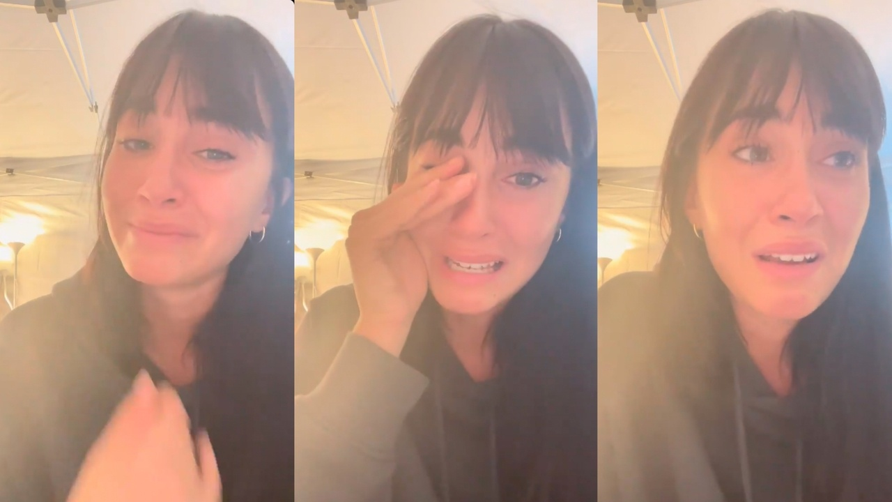 Aitana is sincere about the health problem that has forced