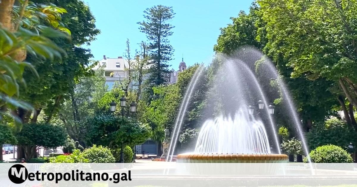 Alameda de Vigo hosts a weekend of free concerts and