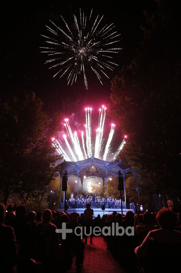 Albacete will say goodbye to its holidays with a pyromusical concert