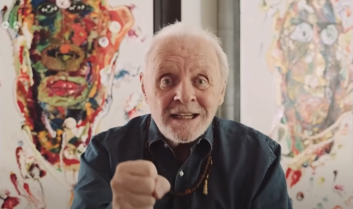 Anthony Hopkins new film is auctioned as NFT allowing buyers