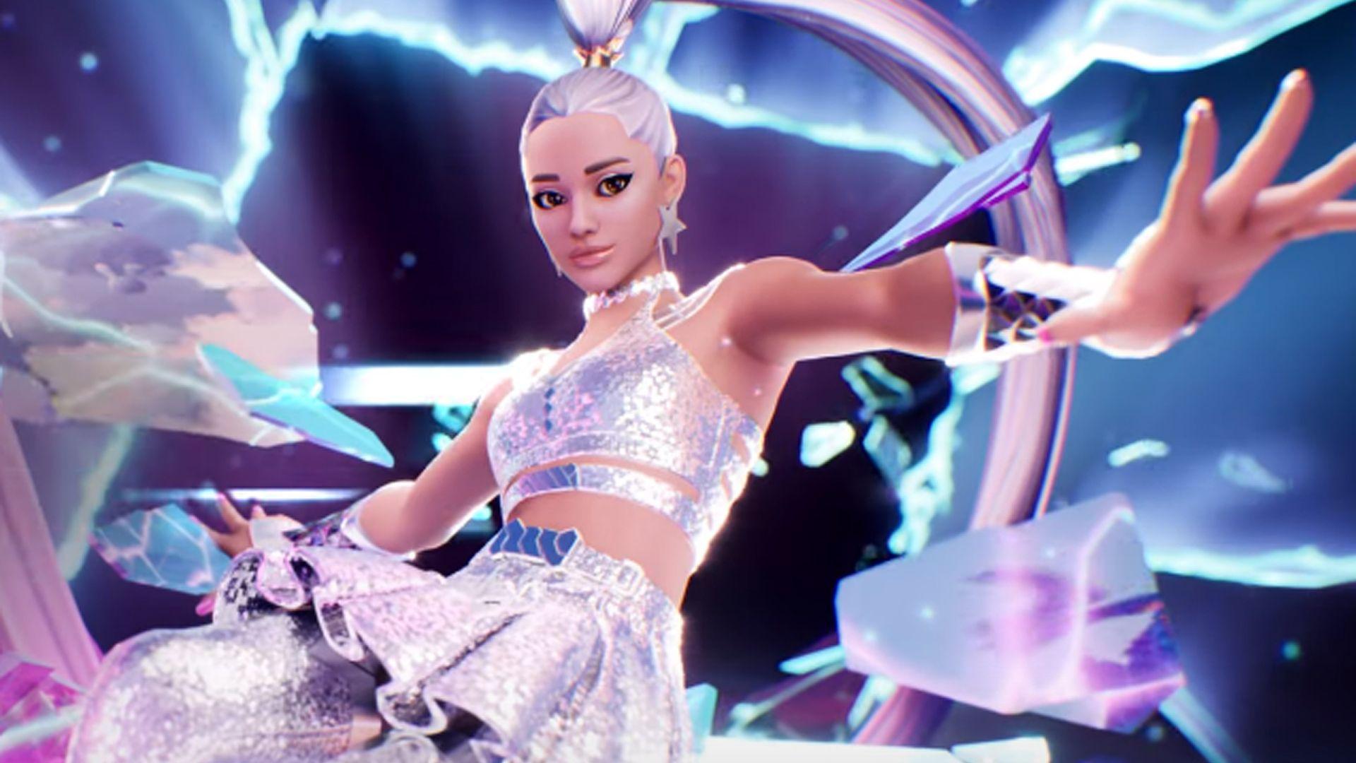 Ariana Grande Travis Scott music assaults the universes in 3D