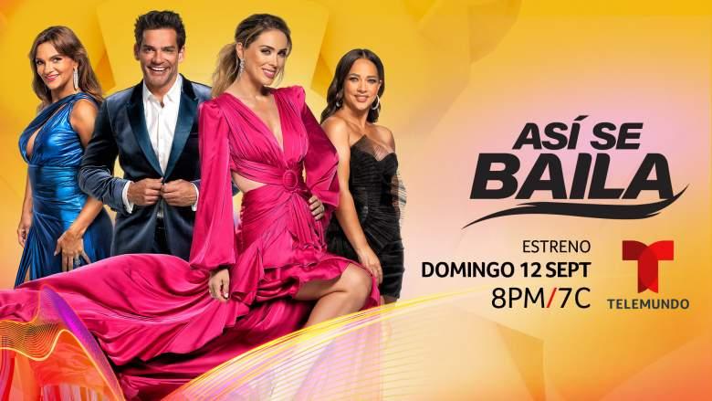 Asi Se Baila on Telemundo Release date and time