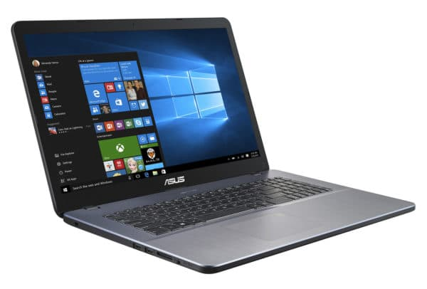 Asus R702UA BX1078T stylish and fast silver 17 ″ laptop PC