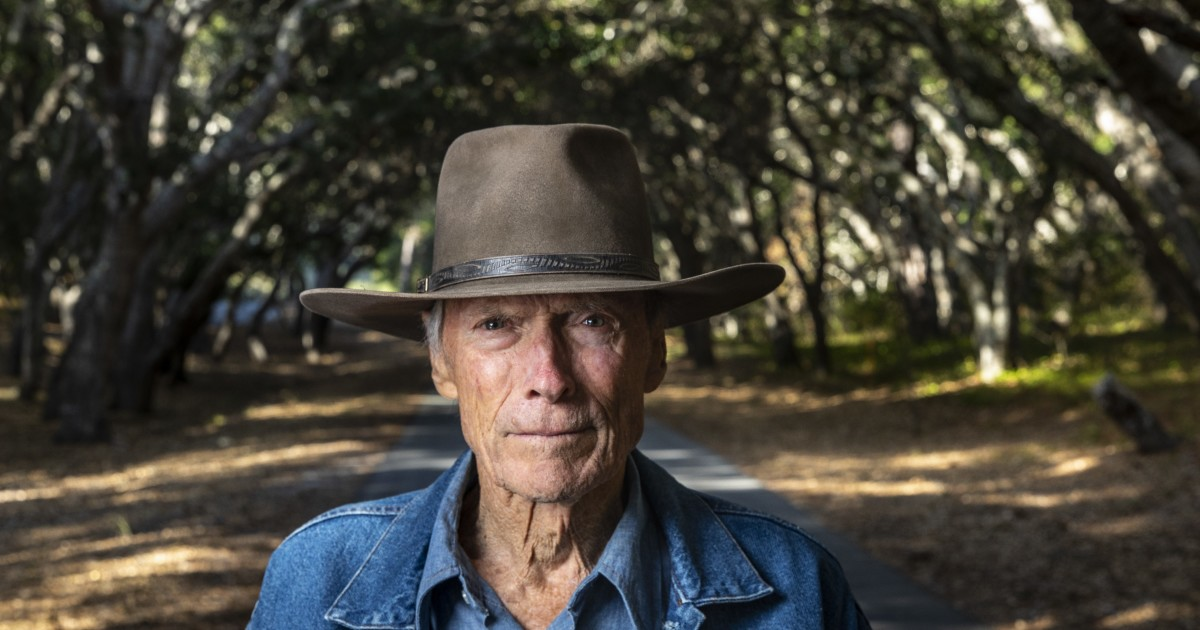 At 91 Clint Eastwood throws a punch and rides a