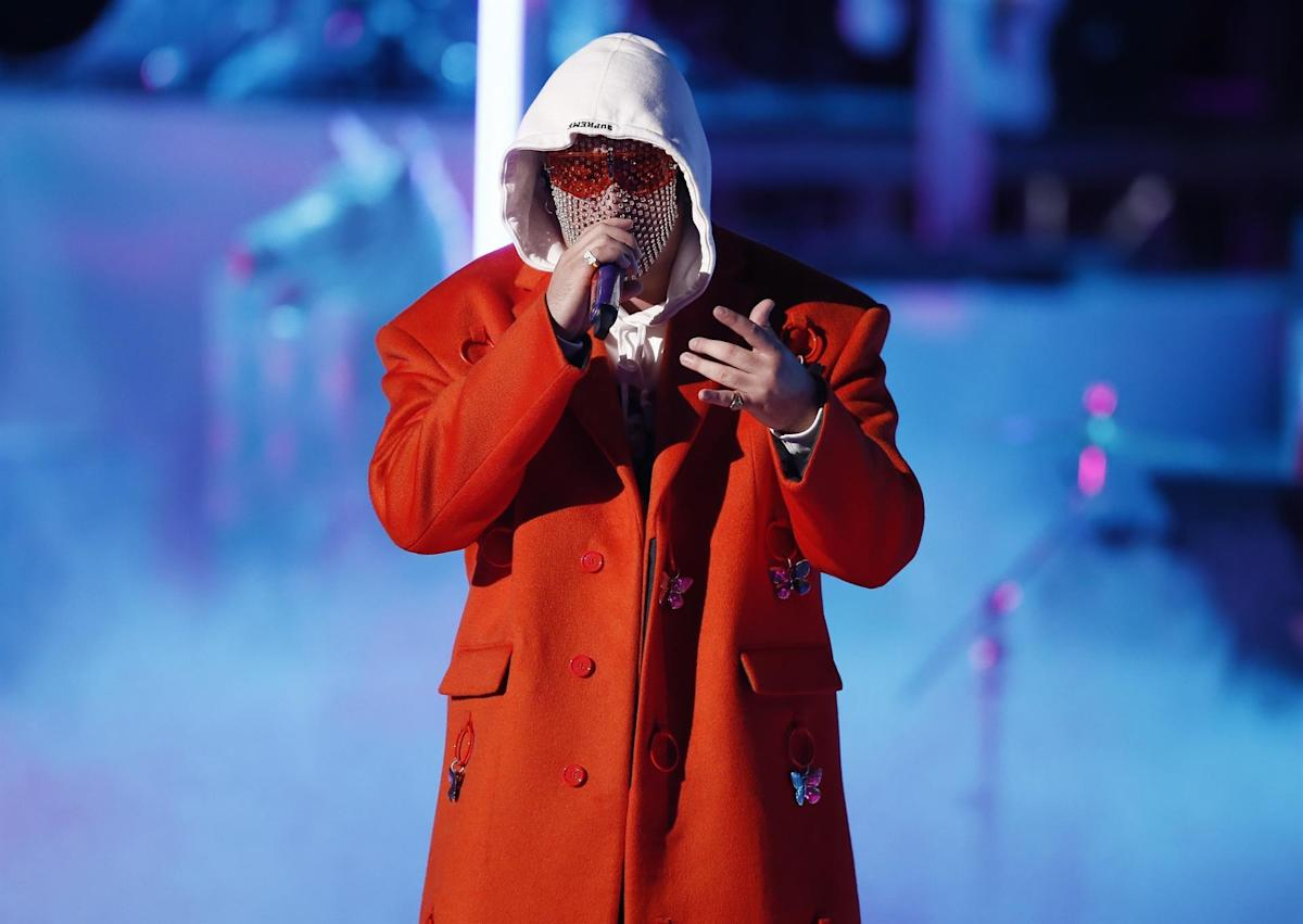 Bad Bunny promotes the third and final season of the