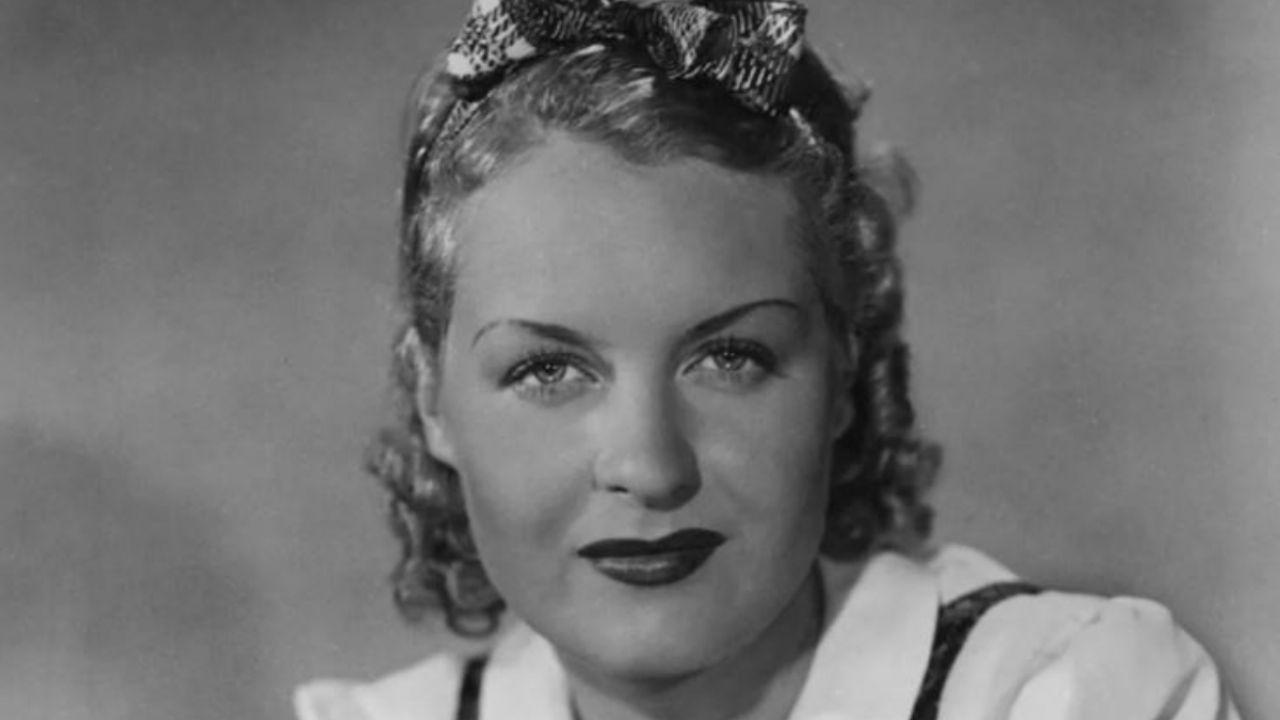 Beautiful German actress of the Golden Film Era was a