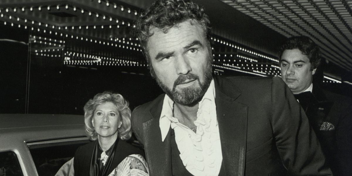 Burt Reynolds the 40 photos of a man with a