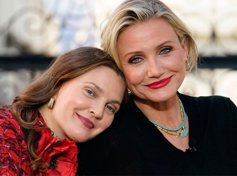 Cameron Diaz and Drew Barrymore, an example of aging gracefully in Hollywood