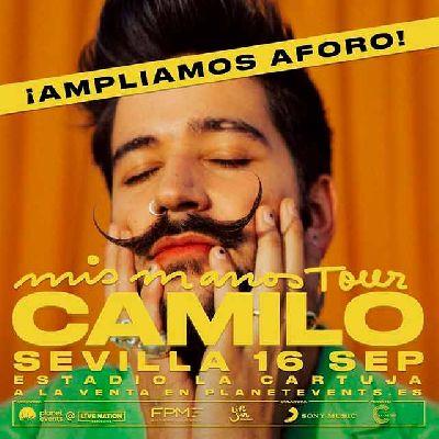 Camilo in Seville 2021 OnSevilla