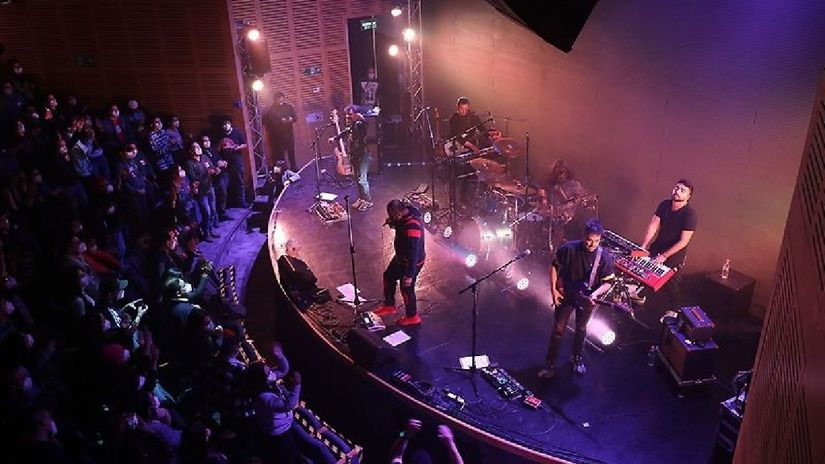 Chile clinical trial of a live concert concluded without COVID 19