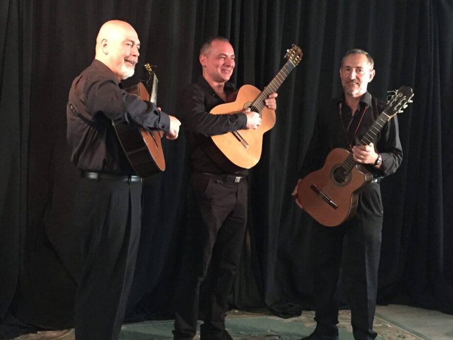 Concert by El Trio Eldorado at Cultural Cordon The