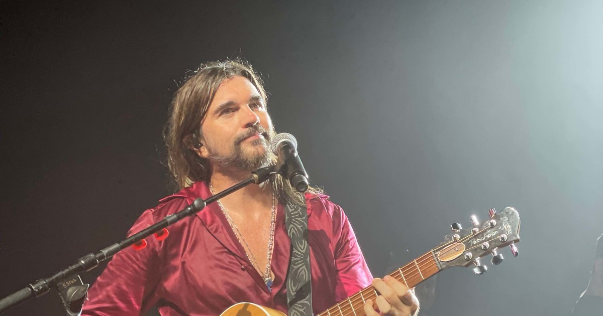 Could Juanes new old fashioned concert give a twist to the