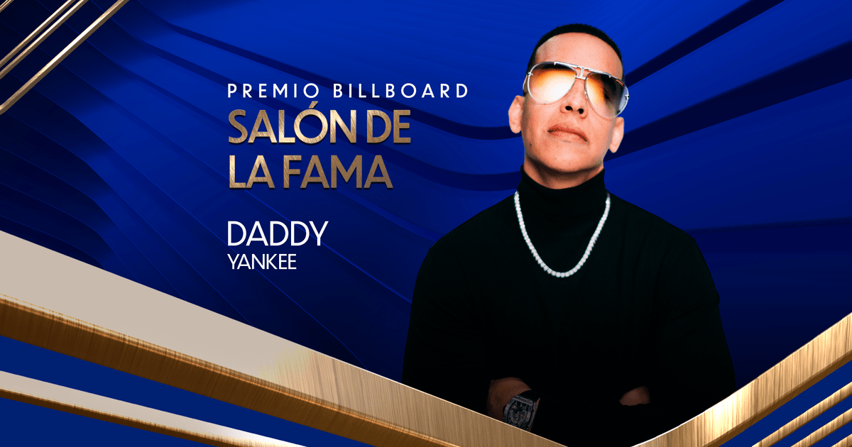 Daddy Yankee to be Honored with Billboard Hall of Fame Award
