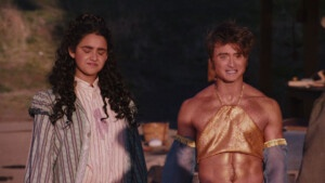 Daniel Radcliffe is worlds away from Harry Potter in skinny exotic dancer outfit for Miracle Workers comedy E! News UK