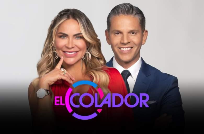 """El Colador"", the new Telemundo show with Aylín Mújica and Rodner Figueroa"