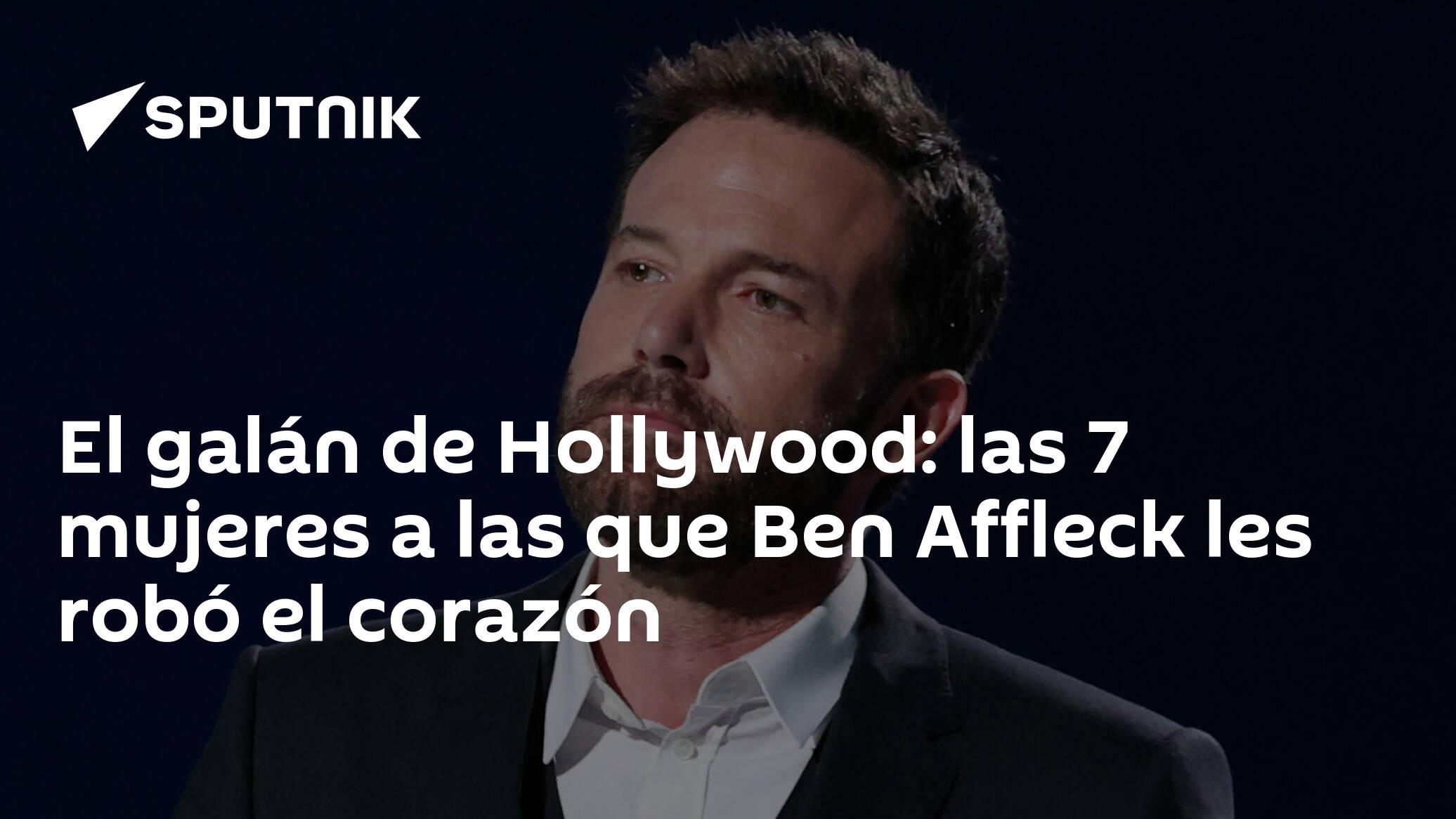 El galan de Hollywood las 7 mujeres a las que