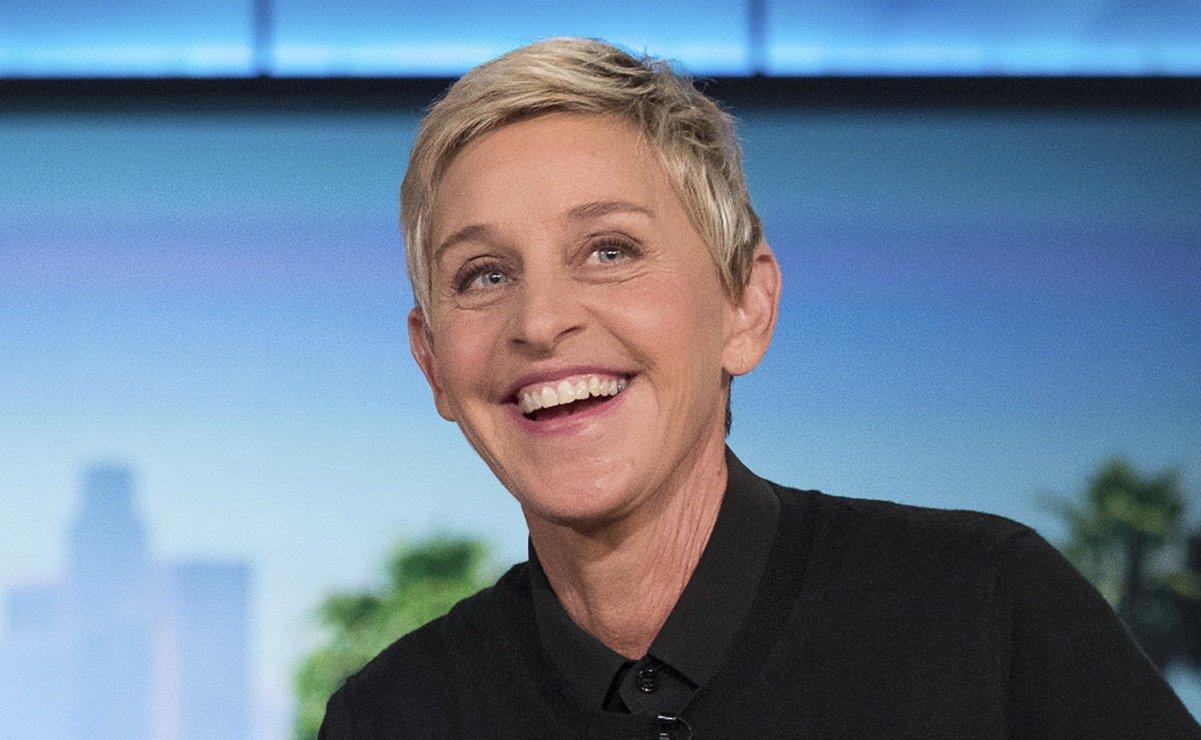 Ellen DeGeneres says her show is a happy place