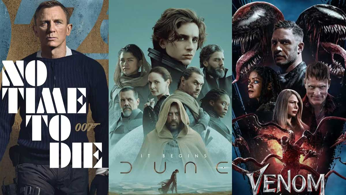 Fall 2021 movie premieres that you cant miss
