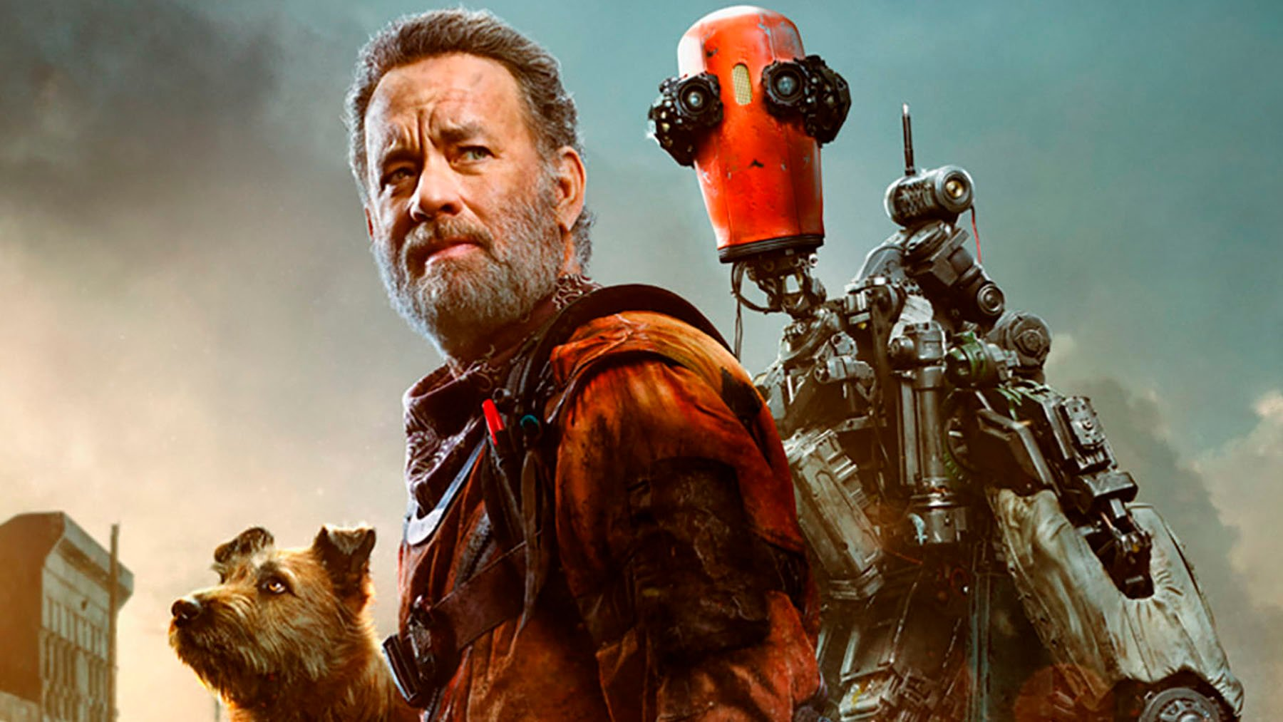 First trailer for Finch Tom Hanks goes on a post apocalyptic