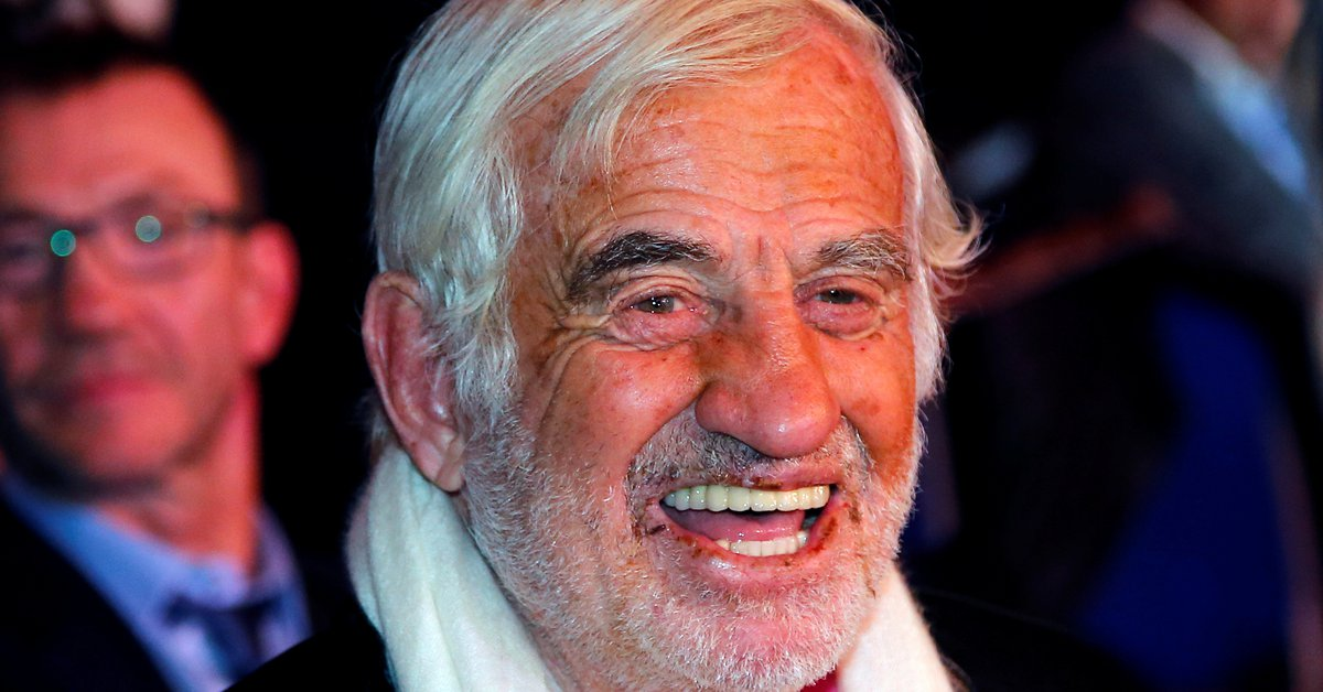 French actor Jean Paul Belmondo died at 88