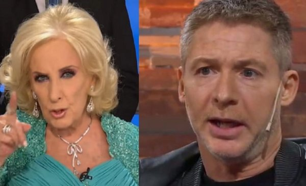 Furious Mirtha Legrand called Adrian Suar told him about everything