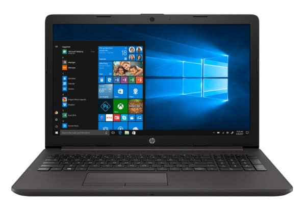 HP 255 G7 (2D318EA), Fast and Lightweight 15 ″ Low-Cost Discreet Black Laptop PC with SSD and CD / DVD Burner