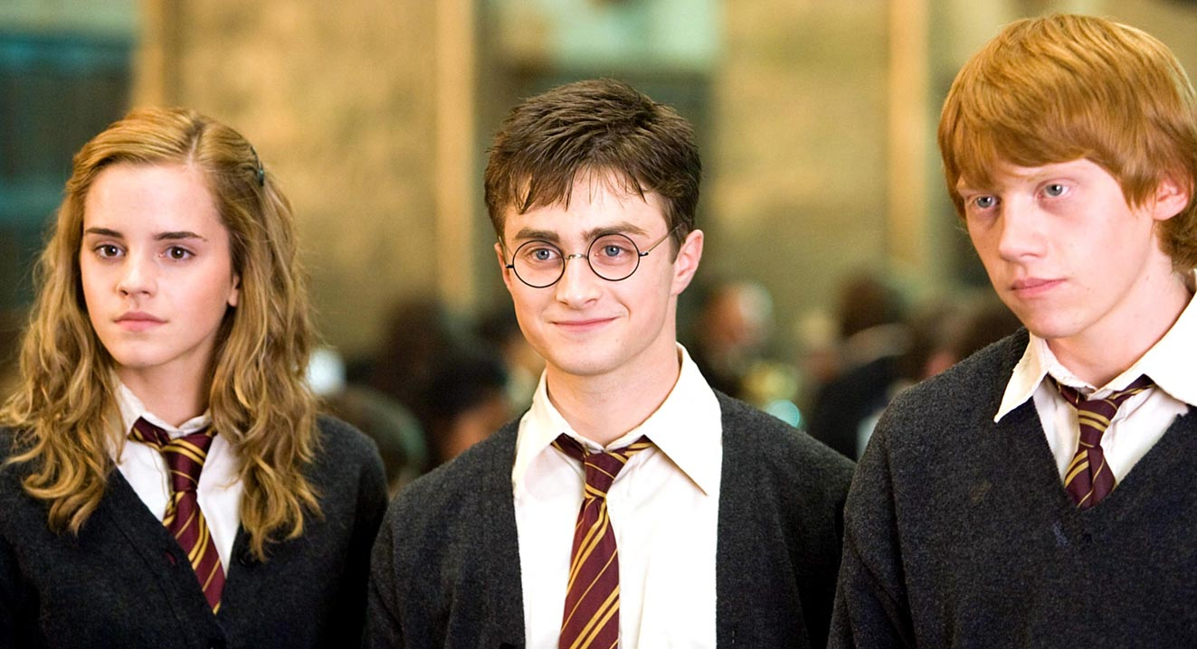 Harry Potter discover the film of the saga that Daniel