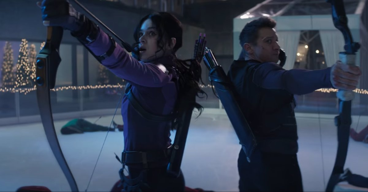 Hawkeye Trailer The Christmas Spirit Invades the Marvel Universe