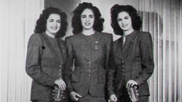 Hermanas Julián stole the hearts of two comedians from the Cine de Oro; this was their love story